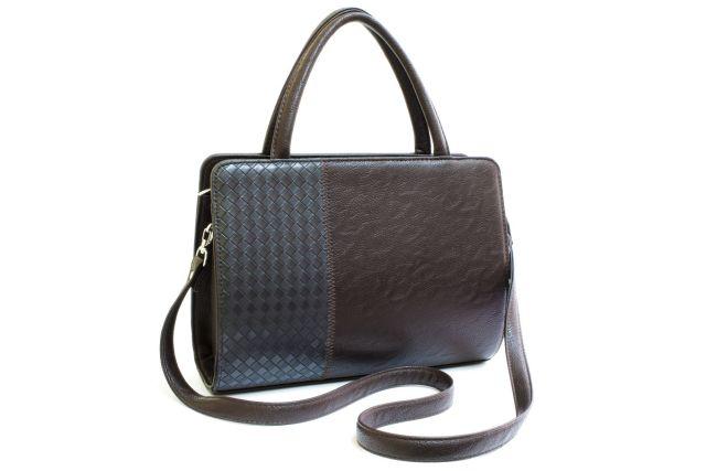 0427 сумка женская коричневая