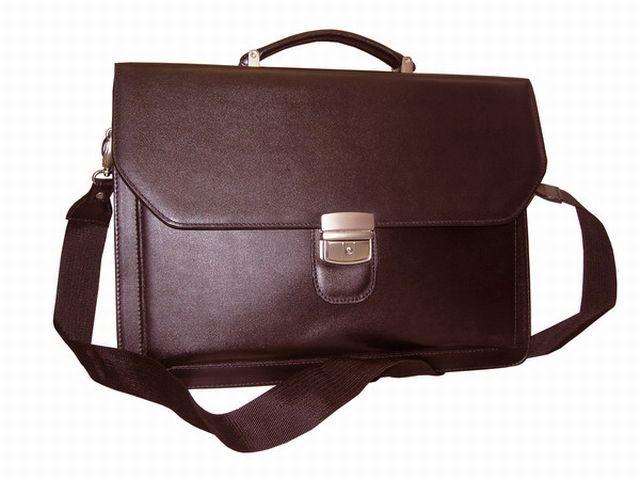 0932н портфель коричневый