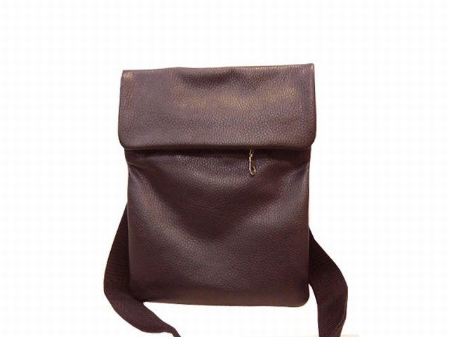 1117н сумка-визитка коричневая