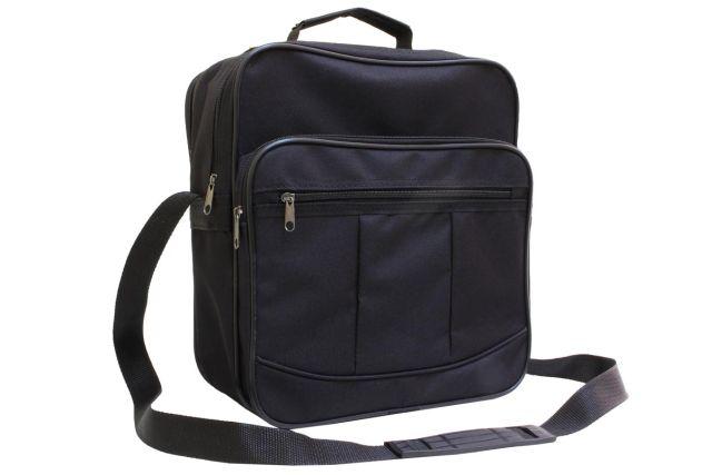 0518к сумка мужская черная