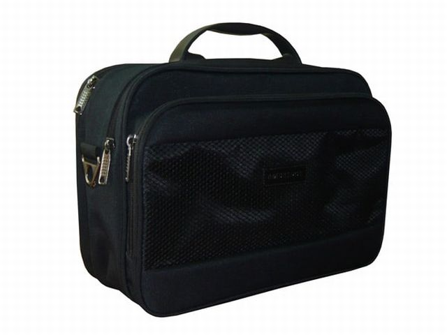 0829к сумка мужская черная