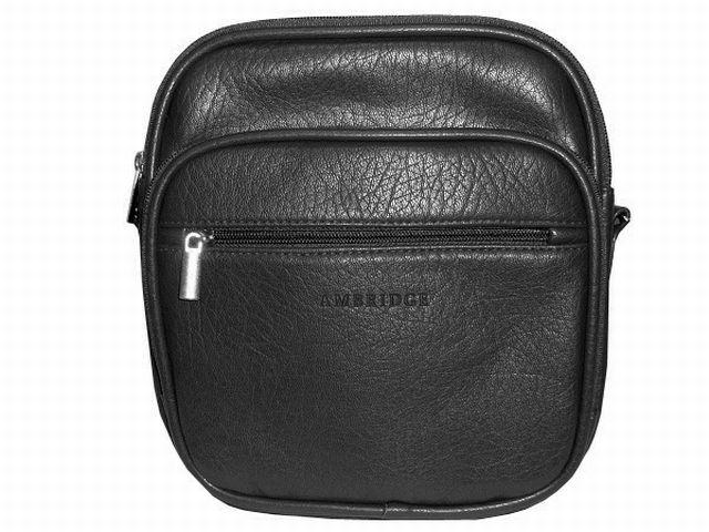1053 сумка мужская молодежная черная