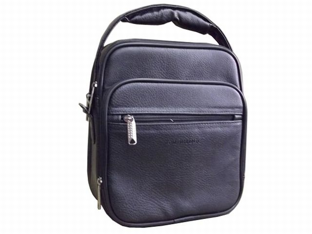 1053м сумка мужская молодежная черная
