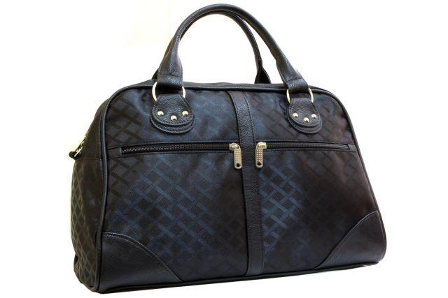 0755к сумка дорожная черная
