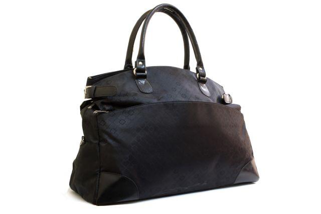 0818к сумка дорожная черная