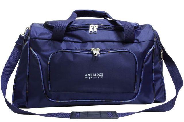 0310к сумка спортивно-дорожная синяя
