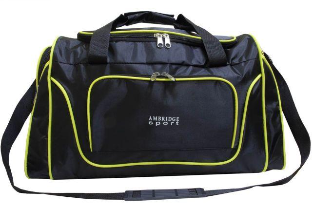 0310к сумка спортивно-дорожная черная