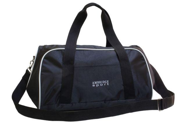 0748к сумка спортивно-дорожная черная
