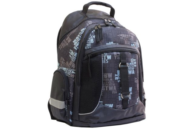 1009к рюкзак черный/дизайн