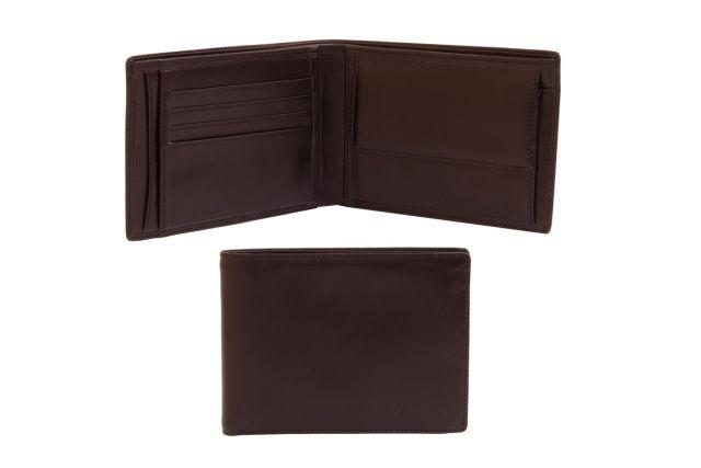 0629н портмоне коричневое