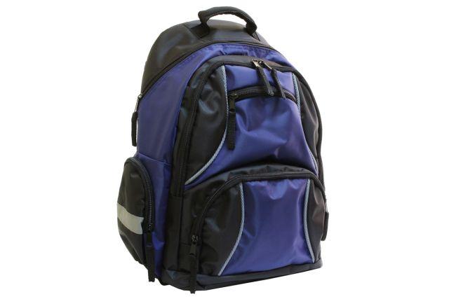 1007к рюкзак черный/синий