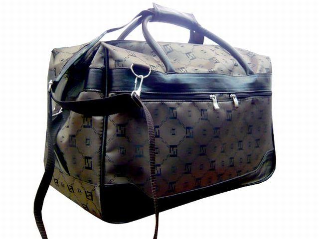 1108к сумка дорожная коричневая