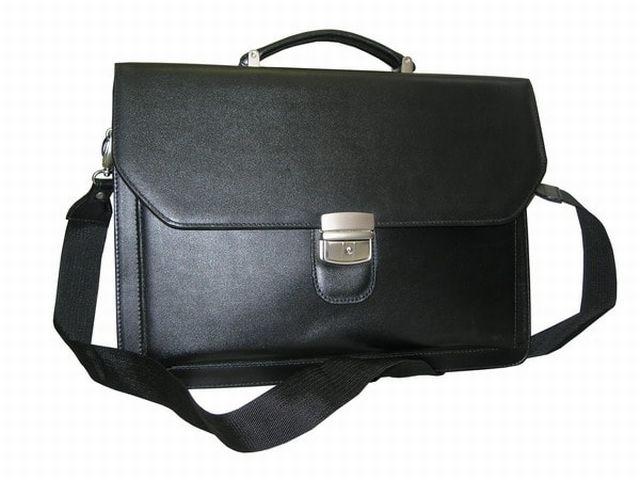 0932н портфель черный