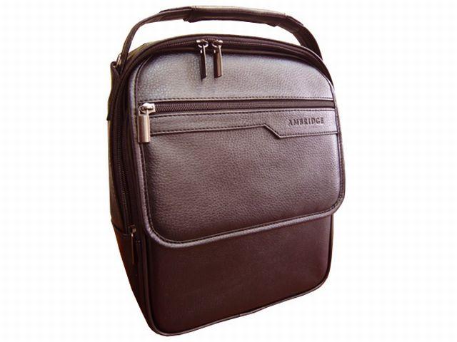 1202 сумка мужская молодежная коричневая