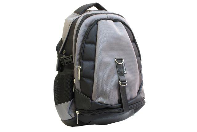 1211к рюкзак черный/серый