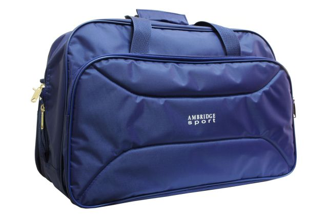 1109к сумка дорожная синяя