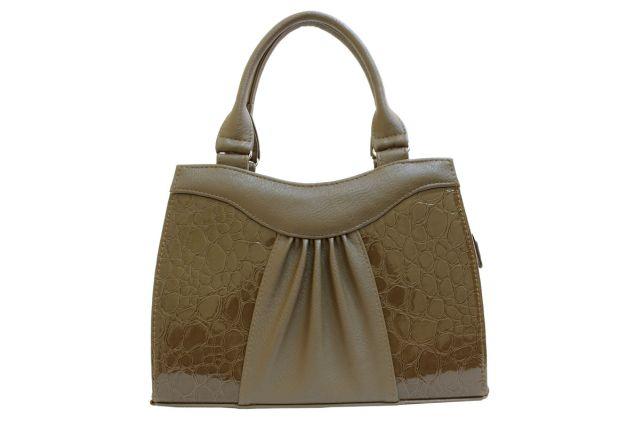 1135 сумка женская темно-бежевая