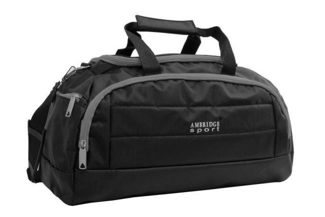 1122к сумка спортивно-дорожная черная