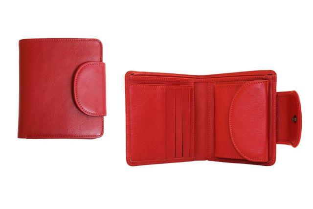 0834н портмоне красное