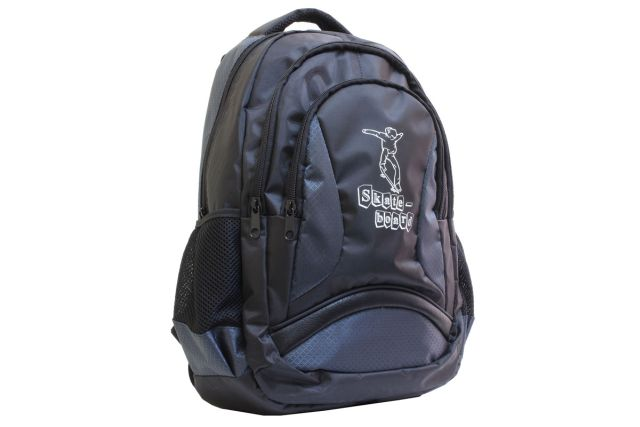 1208к рюкзак черный/серый