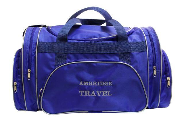 1213к сумка дорожная синяя