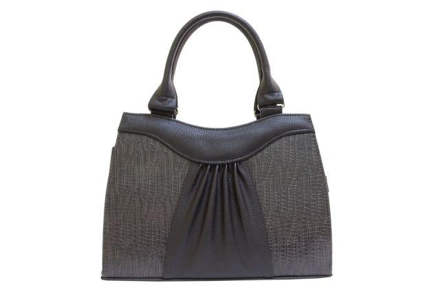 1135 сумка женская коричневая/коричневый крок