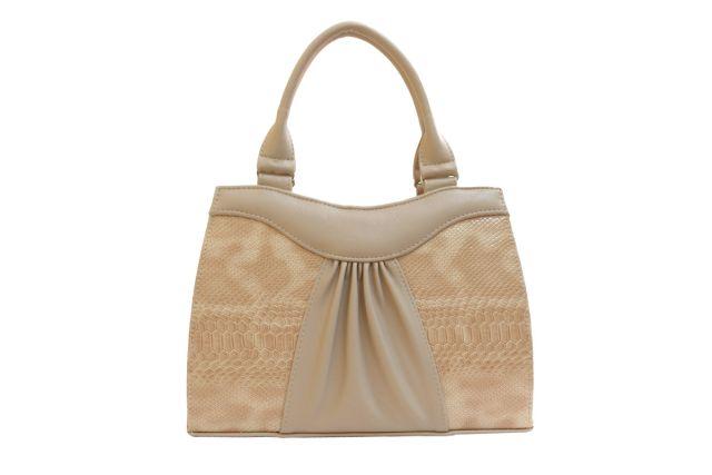 1135 сумка женская бежевая/бежевый лак