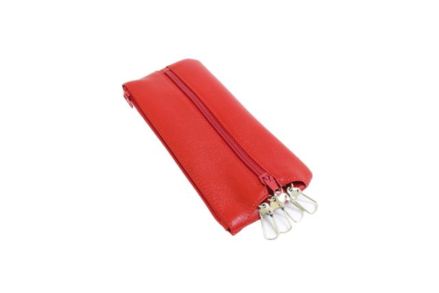 0521н футляр для ключей красный
