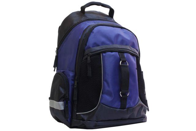 1009к рюкзак черный/синий