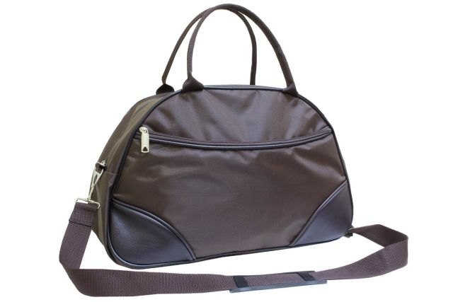 1433к сумка спортивно-дорожная коричневая