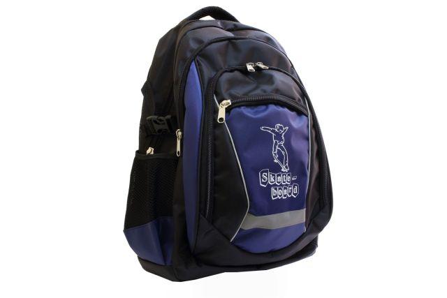 1432к рюкзак черный/синий