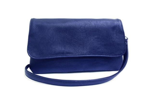 0954 сумка женская синяя