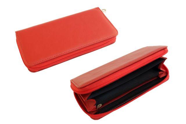 1601н портмоне красное