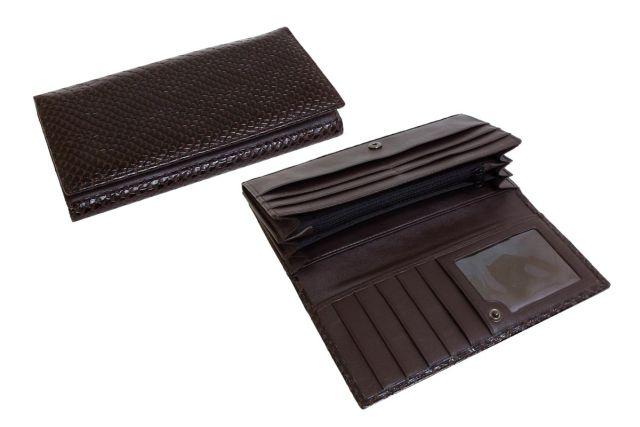 1618н портмоне коричневый крок