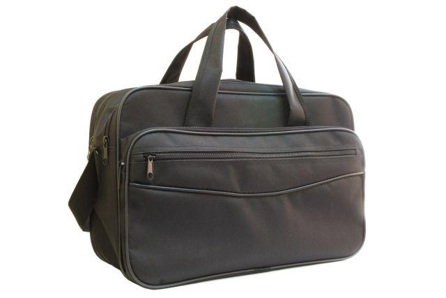 1631к сумка мужская черная