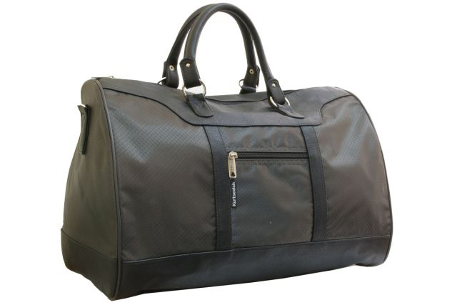 1115к сумка дорожная хаки/черная
