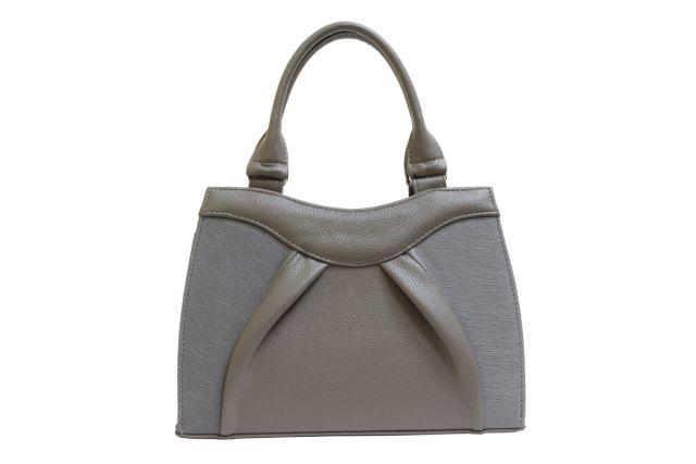 1137 сумка женская темно-бежевая