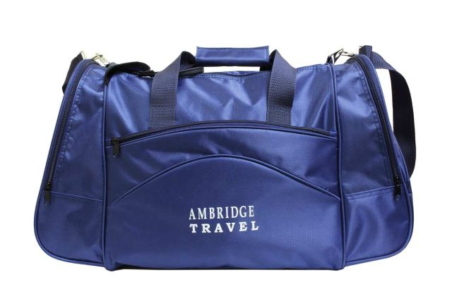 1112к сумка спортивно-дорожная синяя
