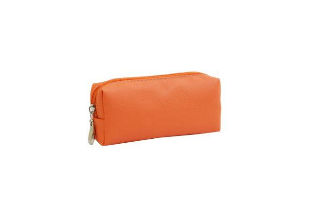 0856 косметичка оранжевая