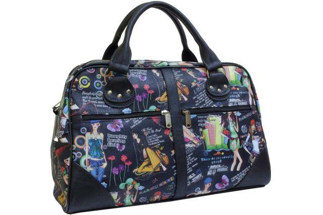 0755 сумка дорожная дизайн (ВИК)