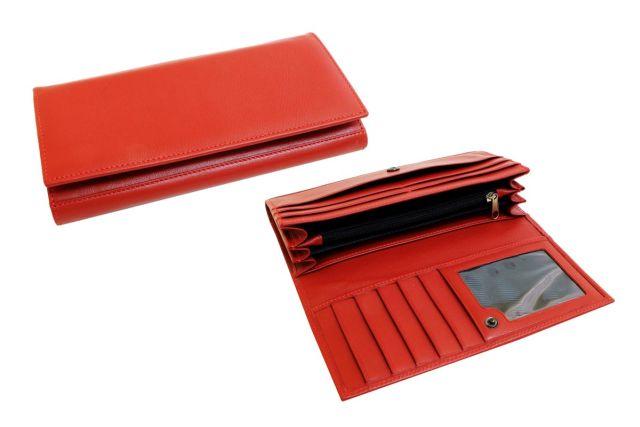 1618н портмоне красное