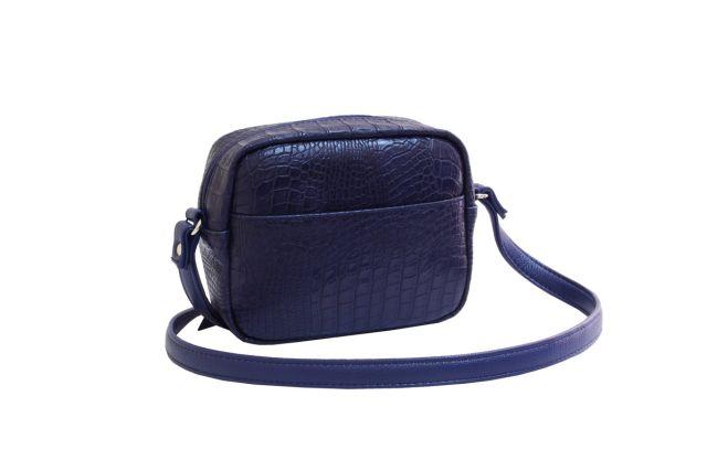 1924 сумка женская синий крок
