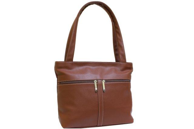 1942 сумка женская рыжая