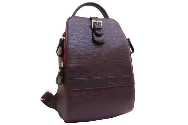 1215 рюкзак бордовый
