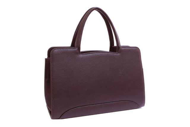 0222 сумка женская коричневая