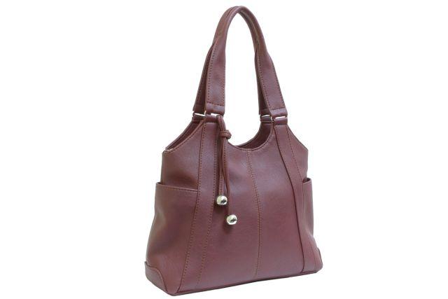 1223 сумка женская коричневая