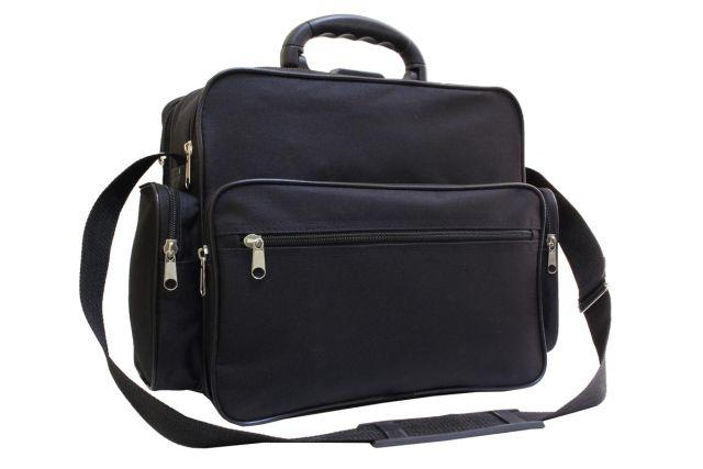 8048к сумка мужская черная