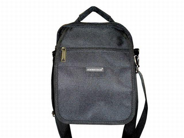 0713к сумка мужская молодежная черная