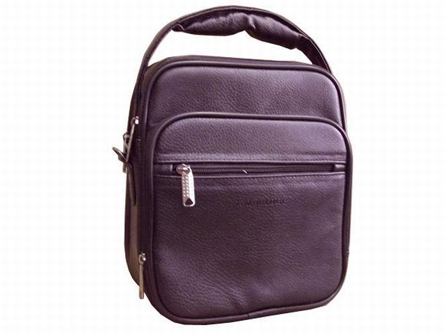 1053м сумка мужская молодежная коричневая