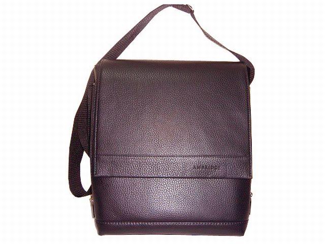 1139 сумка мужская молодежная коричневая